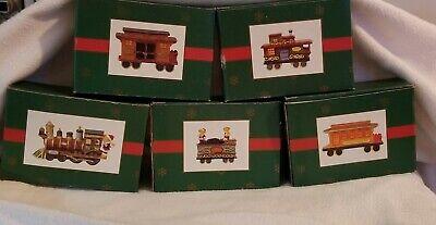 Cedar Creek Collection 5 Piece Christmas Train Set Porcelain By Kirklands