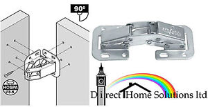 Easy mount hinges ebay for Concealed piano hinge