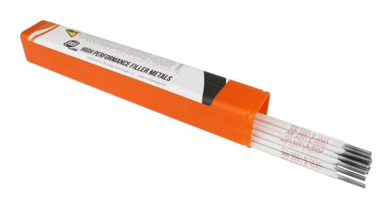 "SÜA - Aluminum E4043 Stick Electrode Rod 1/8"" x 14"" - (0.5 Lb = 16 Rods)"