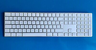 Apple Magic Keyboard with Numeric Pad A1843 Wireless Bluetooth USB charge