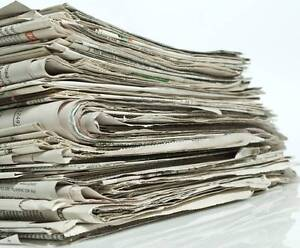 WANTED NEWSPAPERS PAPERS WANTED FOR GARDENING PROJECT Annerley Brisbane South West Preview