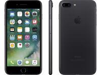 Iphone 7 plus vodafone 32gb matt black