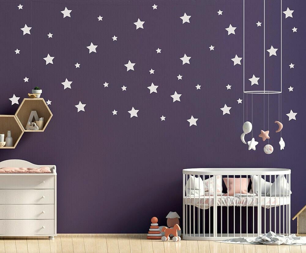 Home Decoration - Vinyl Wall Art Stickers Bedroom Star Home Décor DIY Baby Kids Boy Girls Children