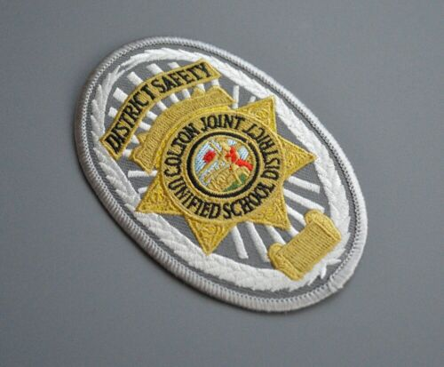 Colton Joint Unified School District Safety Patch