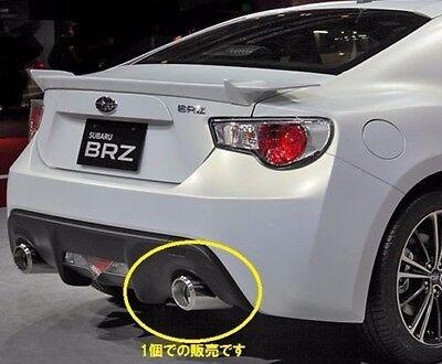 JDM OEM 2PCS SUBARU BRZ ZC6 Muffler TIP Exhaust PIPE CUTTER STI JAPAN F/S