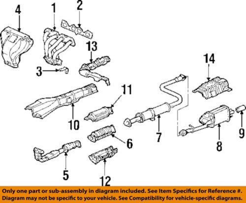 Genuine Honda 18115-P5M-003 Exhaust Manifold Gasket