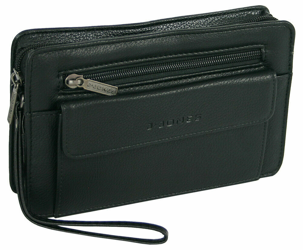 Robuste Herren Tasche Handgelenktasche Businesstasche Handtasche für Männer