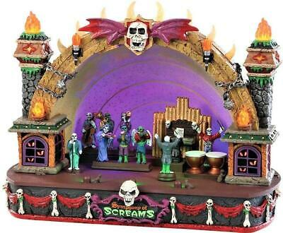 Lemax 2018 Spooky Town SYMPHONY OF SCREAMS #85303 NRFB Sights & Sounds Village * (Halloween Symphony)
