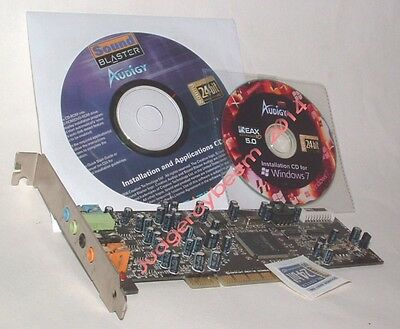 Creative Sound Blaster Audigy SE PCI sound card NEW!!!! for sale  Shipping to India