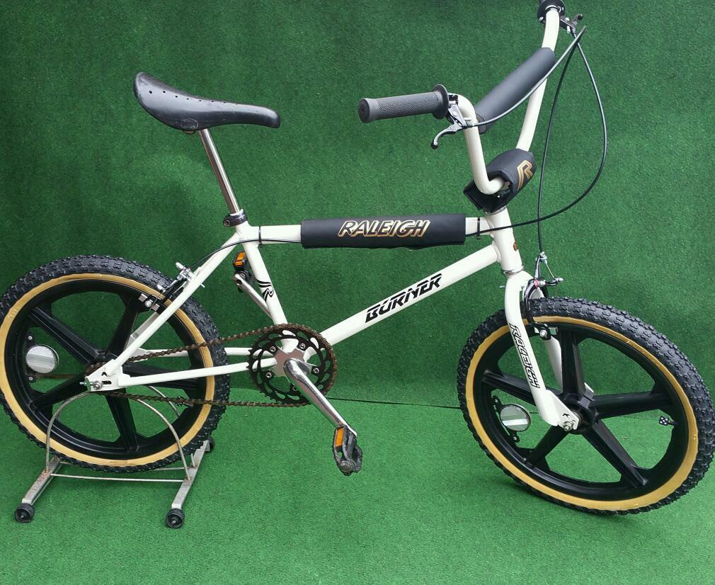 Raleigh Burner Styler 1985 Old School Bmx In Plymouth