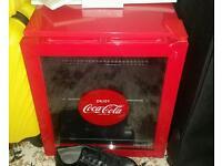Coca cola fridge for summer!!