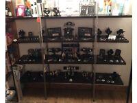 Shelving display unit. Salon. Boutique etc