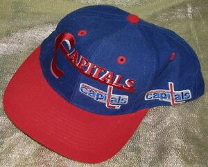 NHL WASHINGTON CAPITALS BASEBALL CAP
