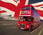 Fotobehang London Bus 232 x 315 cm