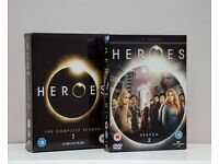 """HEROES"" DVDs - Series One & Two."