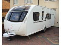 2012 Swift Challenger Sport 554 Fixed bed Touring Caravan
