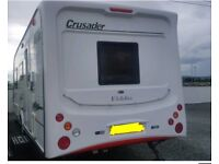 4 berth 2007 Elddis crusader for sale with motor mover