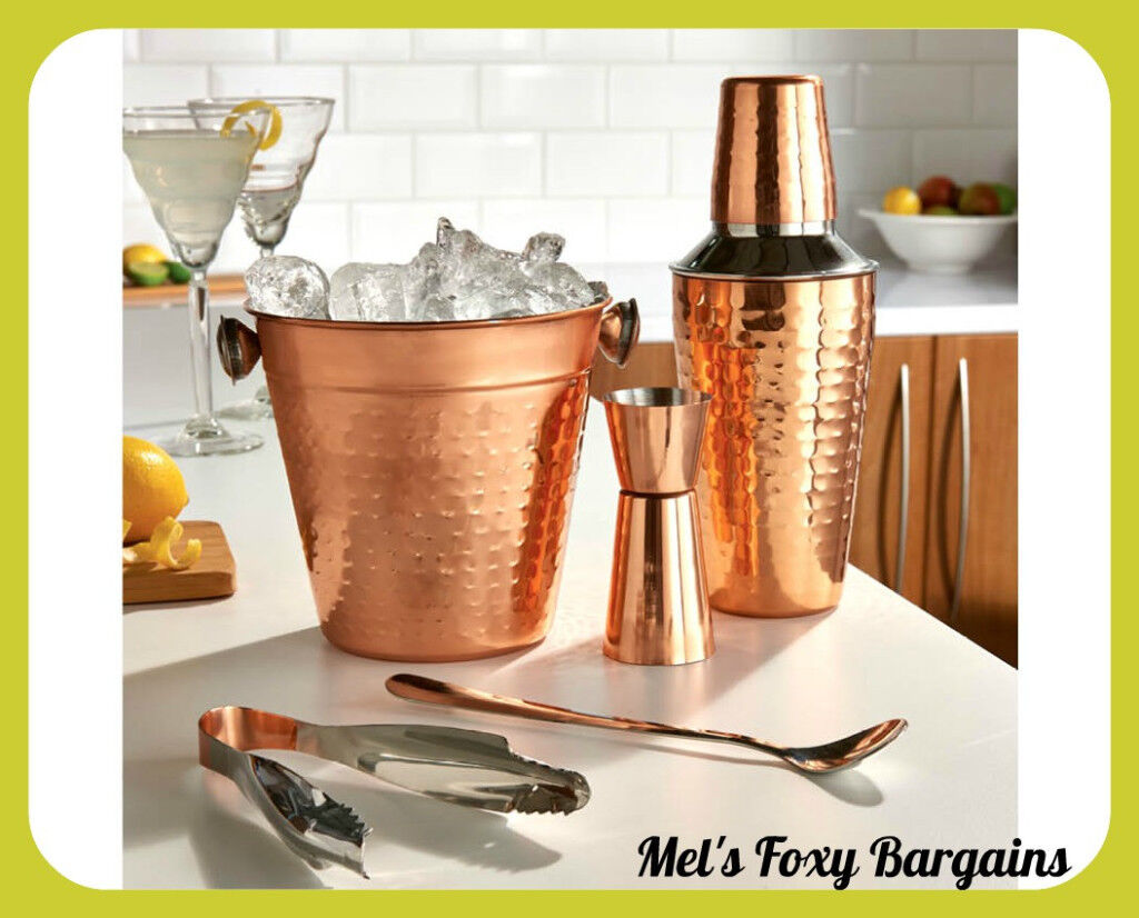 Copper Cocktail Set- Brand New