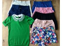Large bundle of girls clothes x8 items size 10-11 year old in excellent condition
