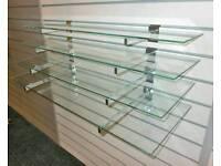 Glass shelfs