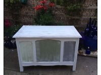 WOODEN STORAGE CHEST/TRUNK/BLANKET TOY BOX/COFFEE TABLE