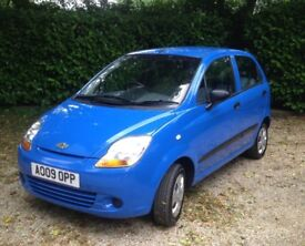 Chevrolet Matiz S 5 door 796cc .12 Months MOT.£30 a year tax.Immaculate inside and out .V.economical