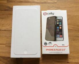 IPHONE 6 PLUS EMPTY BOX AND NEW CASE/COVER