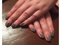 Acrylic and gel polish nails by Emma
