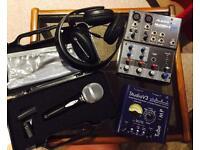 Mini Home Music Studio