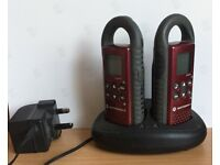 MOTOROLA TLKR-75 WALKIE TALKIES