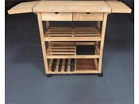 Wooden kitchen trolley!!!