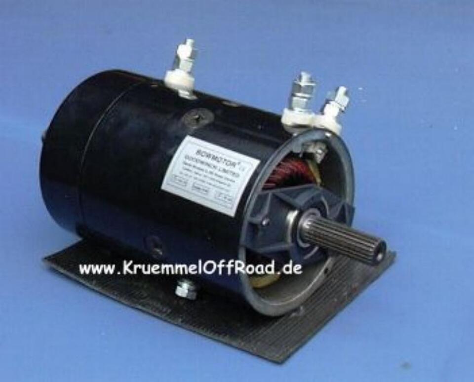Motor Seilwinde  Warn Ramsey Horn Superwinch Bowmotor Bow Iskra in Essen