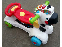 Vtech 3 in 1 Zebra Scooter with Music and Sounds