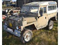 Land Rover 1980 Series 3 2.25 Petrol 24v FFR Ex MOD Lightweight Air Portable