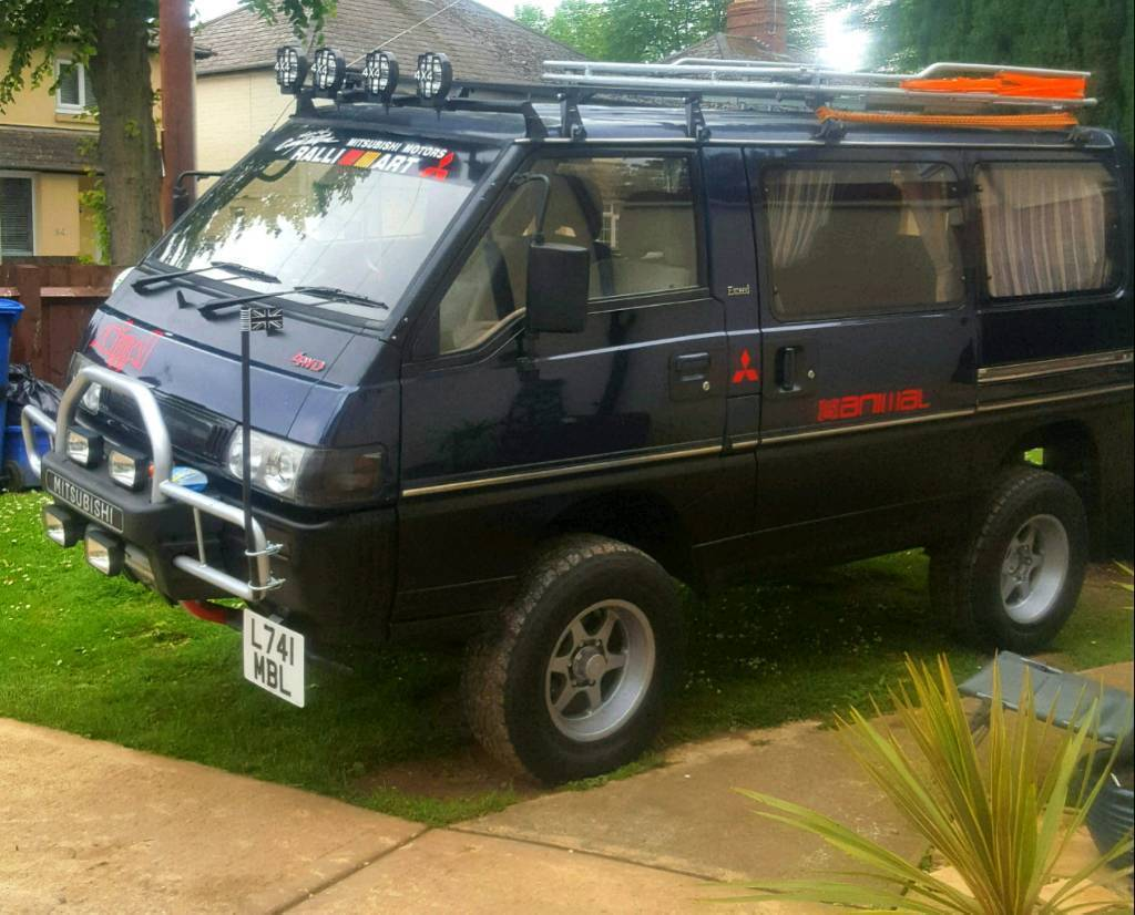 mitsubishi delica 4x4 l300 in banbury oxfordshire gumtree. Black Bedroom Furniture Sets. Home Design Ideas