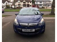 2014 Corsa, Design. Full Service History. Two Keys, Parking Sensor