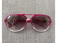 Genuine D&G Women's sunglasses - Aviator style - Pink