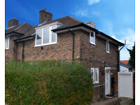 4 bed extended semi detached family house with self contained studio and rear back office