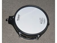 Roland V Drums PD-105 ten inch TOM / SNARE Dual Trigger Mesh Electronic pad 3 available