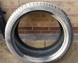 Michelin Pilot Sport 3 Tyre - 225/40R18 (92Y) - about 4mm tread left - £110 new