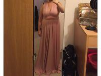 3 Pink multiway dresses