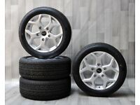 "New 18"" Silver Fox Viper 4 Alloys & Tyres. Suit Ford Transit Van etc."