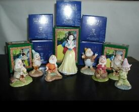 Original Royal Doulton rare Snow White & 7 dwarfs mib