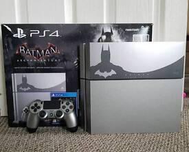 Limited Edition Sony PlayStation 4 Console (500GB) Batman Arkham Knight