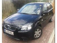 Kia Rio 2010 Car, diesel, cheap tax, Black, one lady owner from new