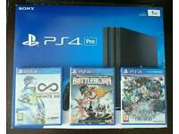 *New* PlayStation 4 PRO 1TB + 3 Games