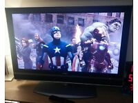 "Sony 26"" high definition tv with freeview (delivery is possible if local)"