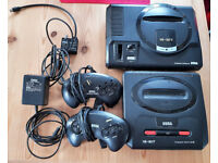 Sega Mega Drive Console Only/Mega Drive 2 Console/Powerpack/Tv Cable/2 Controllers