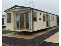 ABI St David Static Caravan with 2017 Site Fees on Skegness Fields, Coastfields Sales