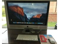 "Apple iMac 27"" Desktop - 3.06GHz, 4GB Ram, 1TB Hard Drive"